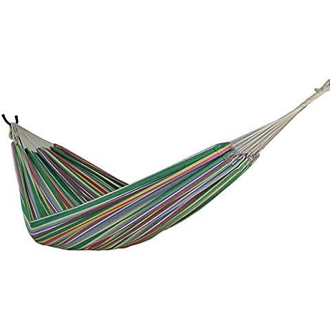 zoophyter King tamaño hamaca, algodón de alta calidad. Perfecto para parque, Patio, porche, dormitorio, interior y exterior