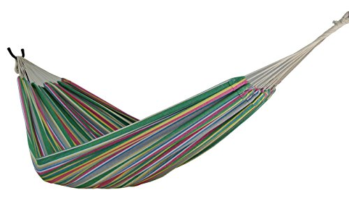 Zoophyter Queen Size Hammock, High Quality cotton. Perfect for park, Yard, Bedroom, Porch, Indoor & Outdoor (Tropical)