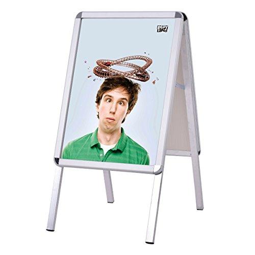 Kundenstopper Werbeaufsteller Plakatständer Werbetafel Werbeträger Alu A2 doppelseitig