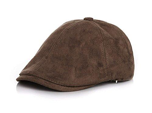 r 2-6 Jahre alt Junge Mädchen Mütze Hat Buckskin Kinder Schlägermütze Baskenmütze Warm halten weich Baumwolle Kappe Frühling und Sommer Kind Cap MEHRWEG ()