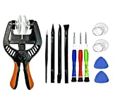 BOENFU LCD Screen Opening Tools Opening Pliers, 12PCS Repair Tool Kit Opening Touch Screen Shell Super Strong Suction Cup iPhone, iPad, iPod, Samsung Galaxy, Huawei More