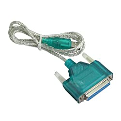 Niceeshop Printer-25-Pin-Parallel-Cable-Adapter