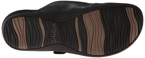 Vionic By Orthaheel Women's Joan Black Fabric And Leather Casual 8 B(M) US Black