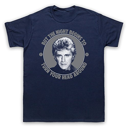 Inspiriert durch Frankie Valli The Night Unofficial Herren T-Shirt Ultramarinblau