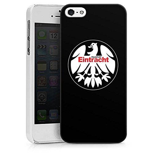 Apple iPhone 6 Plus Tasche Hülle Flip Case Eintracht Frankfurt Fanartikel Fussball Hard Case weiß
