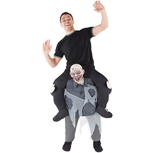 Generique - Costume da Uomo portato da Uno Zombie Morphsuits per Adulto Taglia Unica