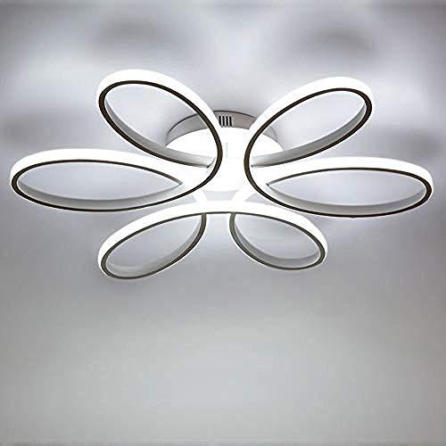 Zqq87 - Moderna lámpara de techo LED 85 W Creativo Forma de...