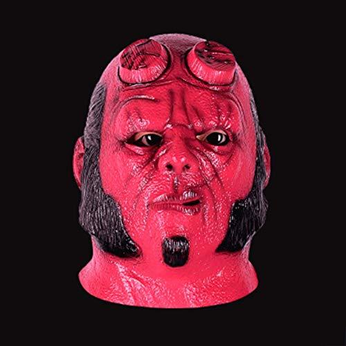 LLY Halloween Cospaly Horror realistische Maske Big Eye natürliche umweltfreundliche Ghost Baby Latex - Big Baby Kostüm Maske