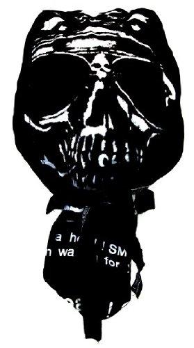 Bandana cuffia preformata Moto Paintball Calcio Disegno Testa di morte Skull Crane