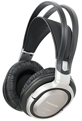 Panasonic RP-WF950EB-S Wireless Headphones with Surround Sound- Silver