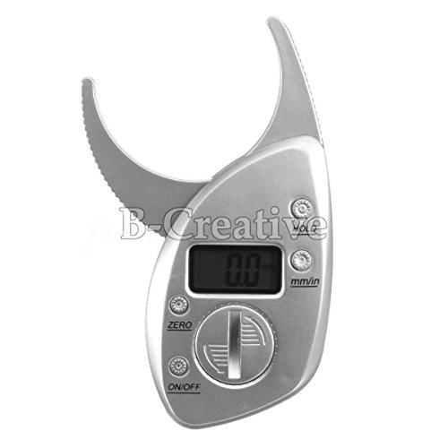 Digital-körperfett-bremssattel (Digital Body Fat Bremssättel & Tape Mass Diet Fitness Gesundheit Gewichtsverlust Tester (Digital Body Fat Caliper))