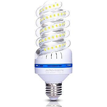 Bombilla LED E27 20W (equivalente a 150 Watt), luz blanca fría (6000K), 360 Degree Ángulo de haz, 1700 lúmen LED Bombillas, No regulable, 1er Pack