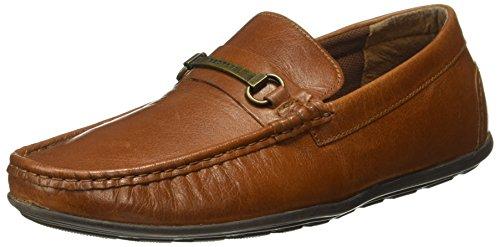 Big Fox Men's Leather Kiltie Tasseled Loafers