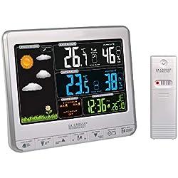 La Crosse Technology WS6826 Station météo colorée - Blanc