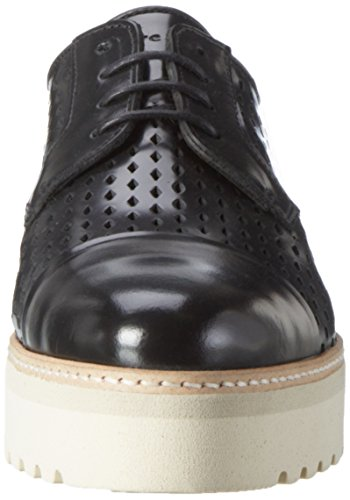 Marc O'Polo Damen 70114013401112 Lace Up Oxford Schwarz (Black)