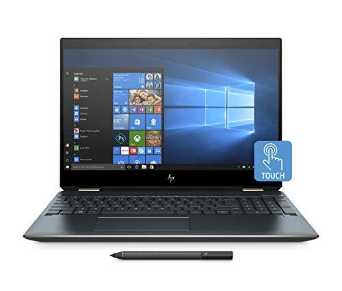 "HP Spectre x360 15-df0006nl Notebook Convertible, i7-8750H, RAM 16 GB, SSD 512 GB, NVIDIA GeForce GTX 1050 Ti, Audio Bang & Olufsen, Display 15"" Touchscreen 4K, Blu"