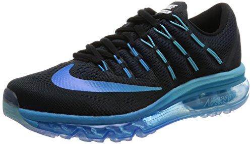 Nike Damen 806772-040 Trilha Runnins Tênis Preto (schwarz / Multi-cor-tief Azul Royal)