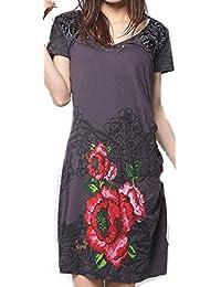 it Desigual A Tunica Donna Vestiti Abbigliamento Amazon dgOqw8nd