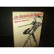 """Die Ruckkehr der Barbaren: Europaer und """"Wilde"""" in der Karikatur (German Edition)"""