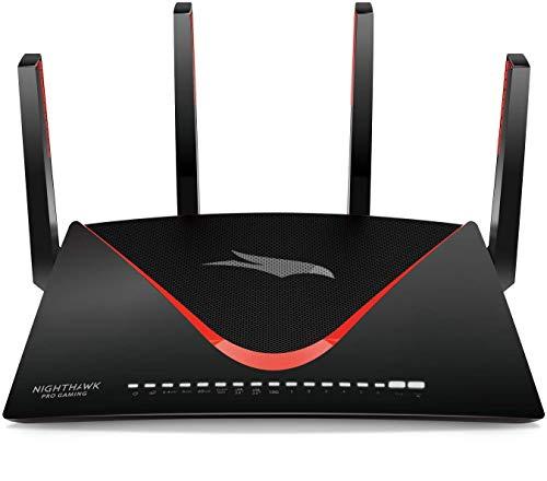 Netgear Nighthawk Pro Gaming XR700 Router WiFi para Juegos con Velocidad AD7200 de Doble Banda