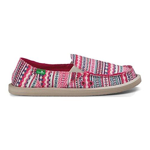 Sanuk, Sneaker donna beige Beige Pink Lanai Blanket