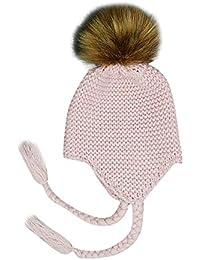 Mitlfuny Niños Niñas Sombreros de Punto Gruesa para Bebé Invierno Caliente  Gorro de Lana Orejeras Escorpion 80cde70978a
