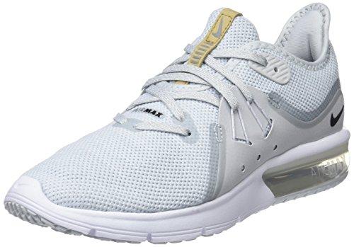 size 40 36125 3ba23 Nike Wmns Air MAX Sequent 3, Zapatillas de Running para Mujer, Dorado (Pure