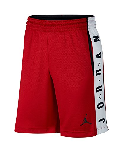 Nike 888376 687 Herren Shorts Basketball, XL rot/weiß/schwarz (gym red/White/Black/Black) Basketball Shorts Schwarz Nike