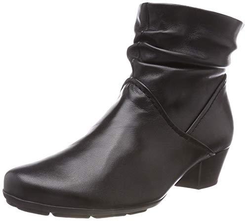 Gabor Shoes Damen Basic Stiefeletten, (Schwarz 27), 43 EU