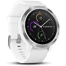 Garmin vívoactive 3 GPS-Fitness-Smartwatch - vorinstallierte Sport-Apps, kontaktloses Bezahlen mit Garmin Pay (Generalüberholt)