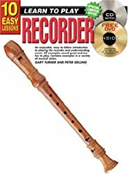 10 Easy Lessons - Recorder (Teach Yourself) by Peter Gelling (1993-12-31)