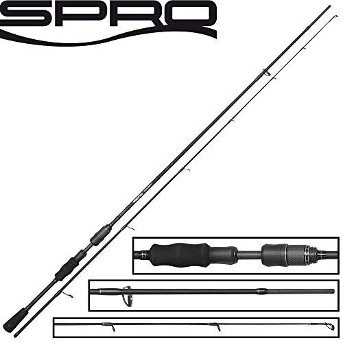 Spro Freestyle Spin Concept 2,40m 30g Spinnrute Zum Spinnfischen auf Raubfische, Angelrute Zum Spinnangeln, Raubfischrute