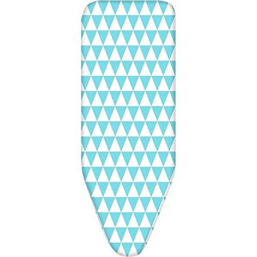 FINLANDEK Housse de table a repasser Koitere pour plateau 120x38 cm bleu et blanc
