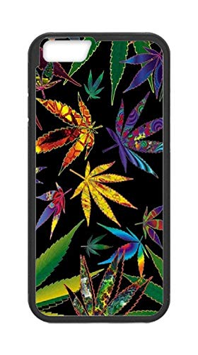 sanlianwangluokeji Custom Gifts iPhone 6/6S Case - Tropical Multi Pot Leaves Hard Plastic Phone Cell Case for iPhone 6/6S