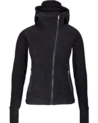 Bench Damen Sweatshirt Fleecejacke Ninja Hood Body Mould schwarz (black) X-Small