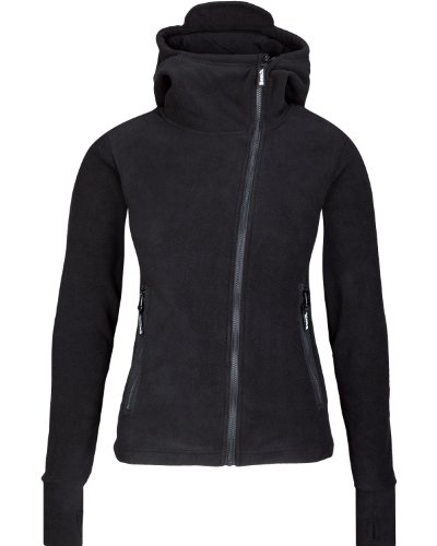 Bench Damen Sweatshirt Fleecejacke Ninja Hood Body Mould schwarz (black) Large