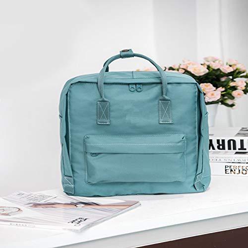 Hanggg Zaino porta computer borsa impermeabile per studenti
