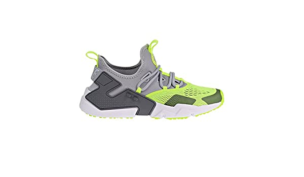 competitive price ef6dd 2f959 NIKE Air Huarache Drift BR Mens Shoes Wolf Grey Volt Dark Grey White ao1133- 001 (7.5 D(M) US)  Amazon.fr  Chaussures et Sacs