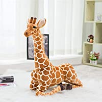DierCosy 1PC 100cm huge real life giraffe Toy Cute Stuffed animals doll stuffed toy for kids soft birthday gift Simulation GiraffeHigh Quality toys for kids childs friends