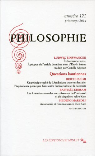 Philosophie, N° 121, Printemps 2014 :