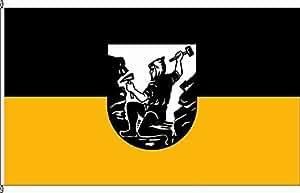 Flagge Fahne Kleinflagge Berggießhübel - 40 x 60cm