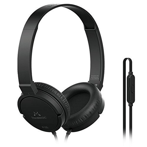 SoundMagic P10S Headphones with Mic  Black/Gunmetal