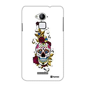 Customizable Hamee Original Designer Cover Thin Fit Crystal Clear Plastic Hard Back Case for Coolpad Note 3 Lite / Cool Pad Note Three Lite (cool skull)