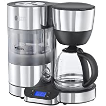 Russell Hobbs Purity Brita Filter Coffee Machine 20770, 1.25 L - Black/Silver