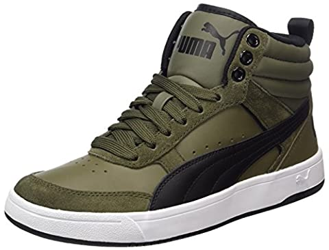 Puma Unisex-Erwachsene Rebound Street v2 Sneaker, Grün (Olive Night-Black), 44.5 EU