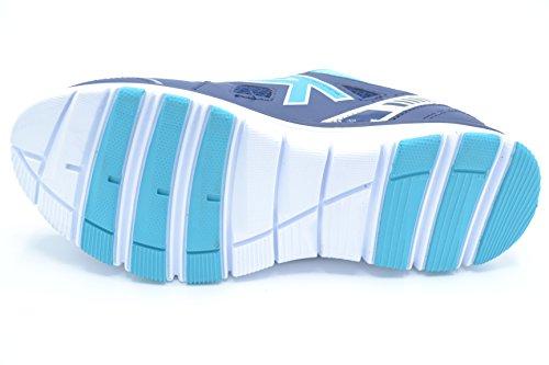 Kelme Seatle Flat 4.0, Sneaker Basse Donna Blu