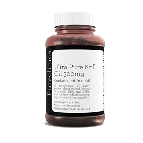 Olio di krill purissimo Aker Krill 500mg x 120 capsule - proveniente dalle acque incontaminate dell'Antartide che sono una ricca fonte di astaxantina, Omega 3 e Vitamina D. SKU: KRI500