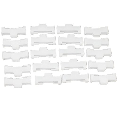 20pcs-Pack L30×W12×H6mm Nylon Servo Extension Safety Cable Wire Lead Lock For RC Airplane Boats Helicopter Replacement preisvergleich