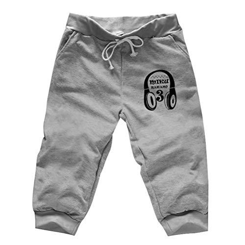 Feidaeu MäNner Casual Shorts Bequeme Haut Atmungsaktiver Kordelzug Elastische Taille Anime Muster Sommer Jogginghose (Canari Shorts Bike)
