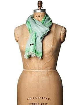 CINQUE Damen Schal Cinatascha Modal Accessoire Gemustert, Größe: Onesize, Farbe: Grün